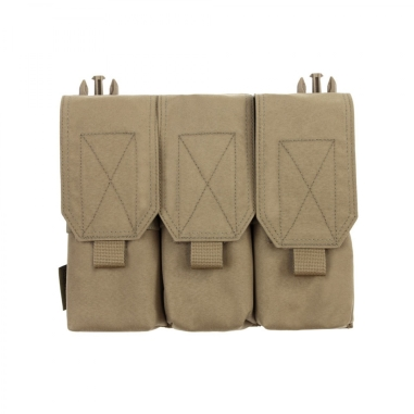 Warrior Removable Triple Covered M4 Pouch for RPC Coyote Tan