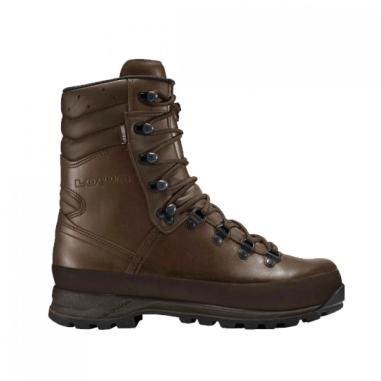 LOWA Combat Boots Brown GORE-TEX