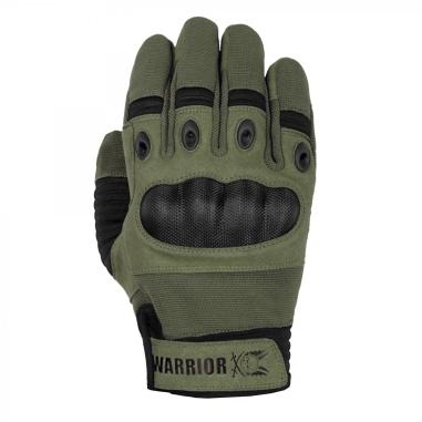 Warrior Omega Hard Knuckle Glove Olive