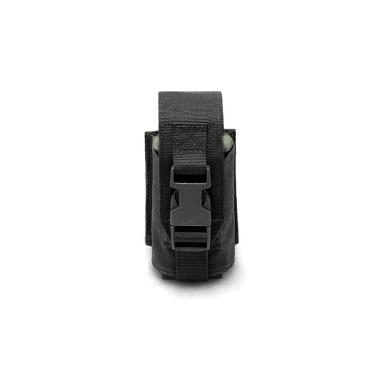 Warrior Single Smoke Grenade Pouch Gen 2 Black