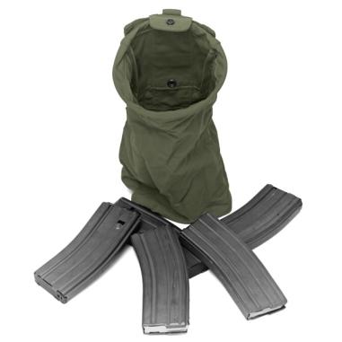 Warrior Slimline Foldable Dump Pouch Olive Drab