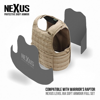 Nexus Raptor Soft Armour Front & Back