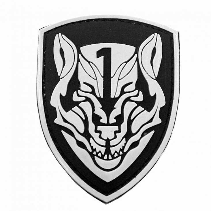 Medal Of Honour Wolf Pack Tier 1 Rubber Velcro Patch