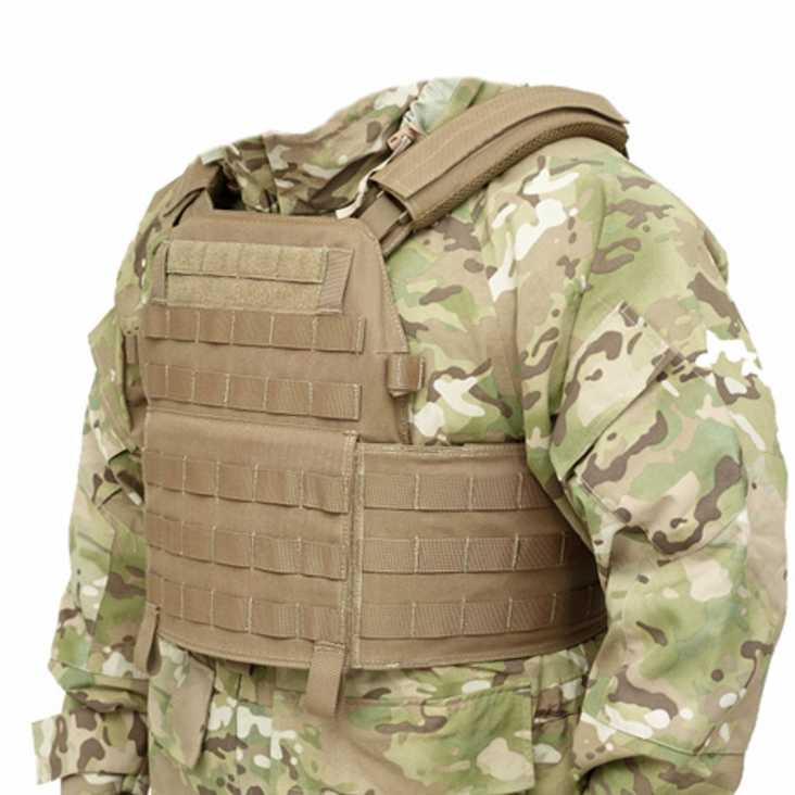 Warrior DCS Plate Carrier Base Coyote Tan