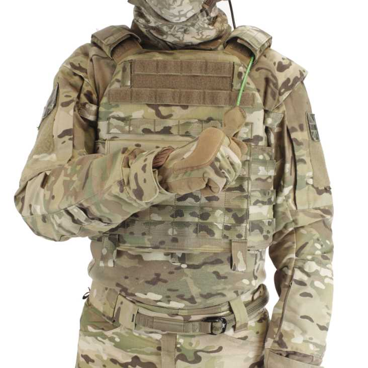 Warrior DCS Special Forces Releasable Plate Carrier Coyote Multicam