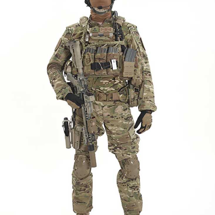multicam armour carrier warrior dcs da5 56