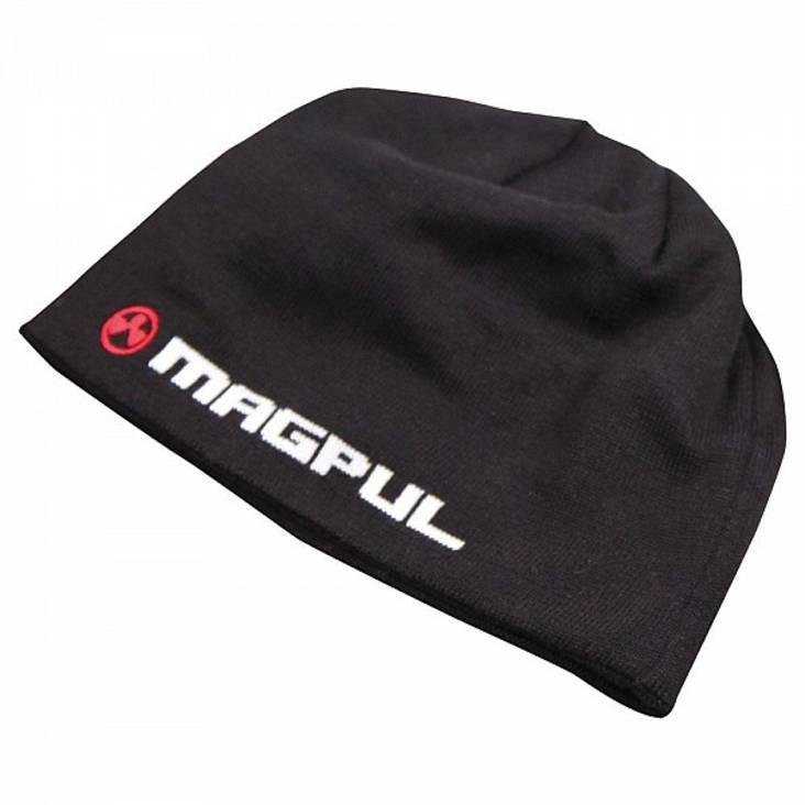 Magpul LOGOTEXT Skull Beanie Colours-Black