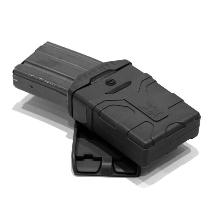 Warrior Assault Systems Polymer 5.56mm Mag Pouch Black