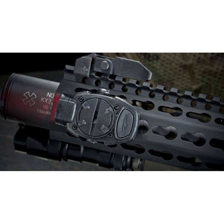 Princeton Tec Switch Rail Head Torch Black With Red/White LEDs