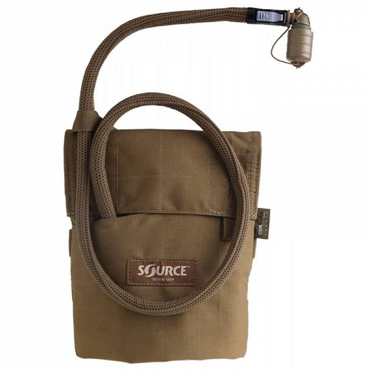 Source 400151 Kangaroo 1L with Pouch Coyote