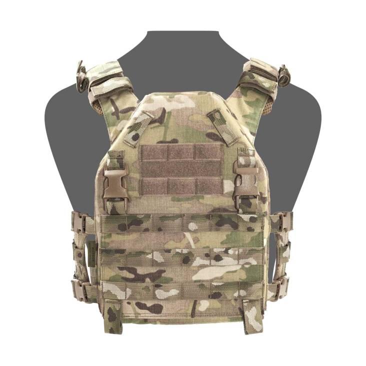 Warrior Recon Plate Carrier Shooters Cut SAPI - Size Medium MultiCam