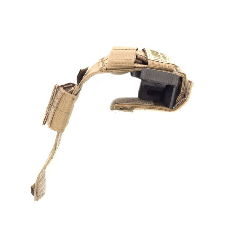 Warrior Universal Pistol Holster Left Hand Coyote Tan