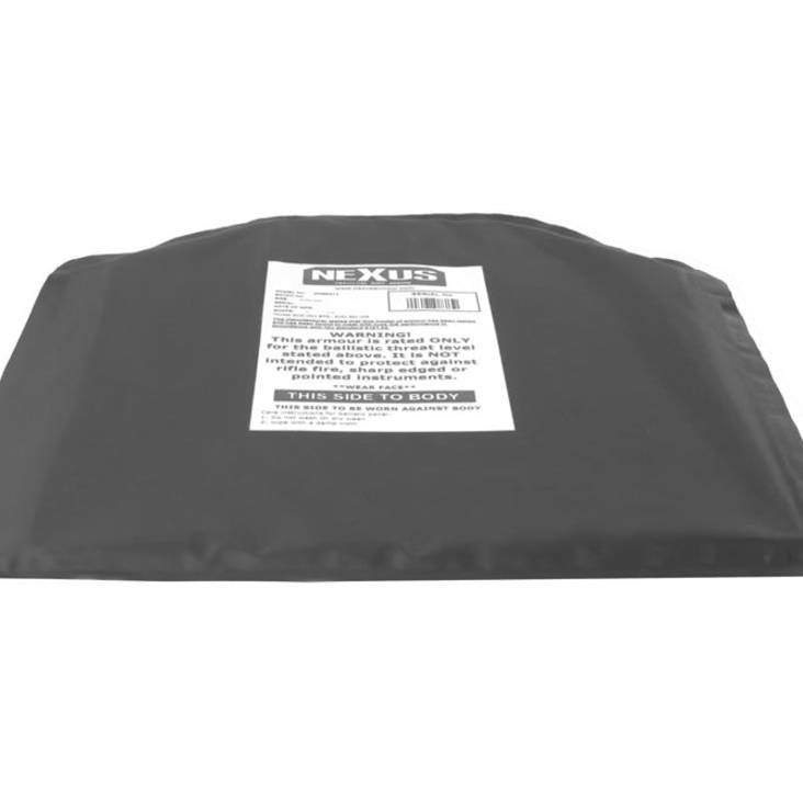 "Nexus NIJIIIa 10"" x 12"" Soft Armour Inserts- Plate Backers"