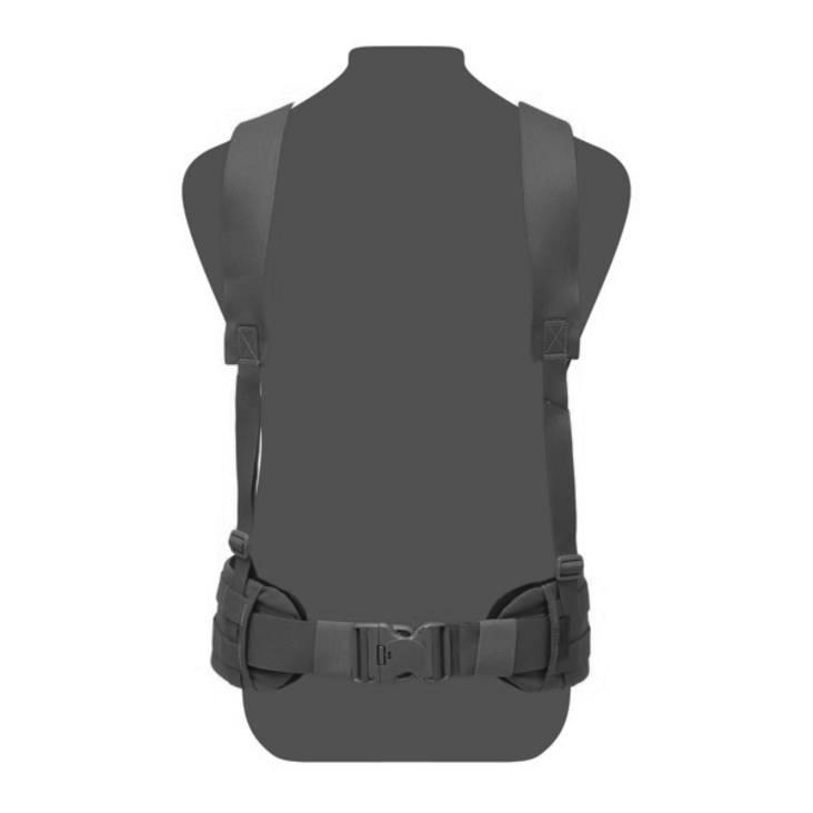Warrior Slim Line Harness Black