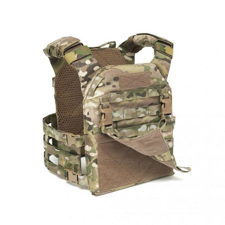 Warrior MOLLE Front Panel for Recon Plate Carrier MultiCam