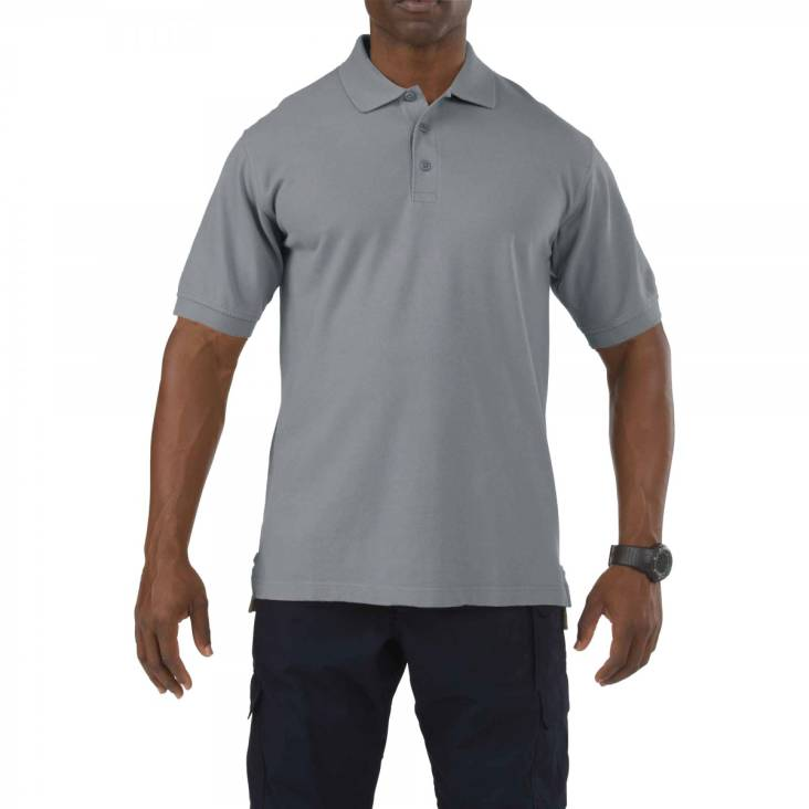 5.11 Professional Polo Heather Grey