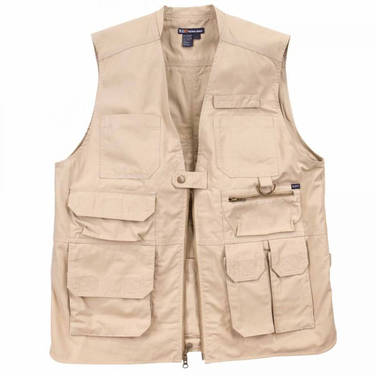 5.11 Taclite Pro Vest With 17 Pockets - TDU Khaki