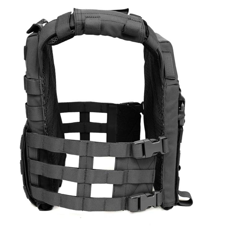 Warrior Recon Plate Carrier SAPI Black