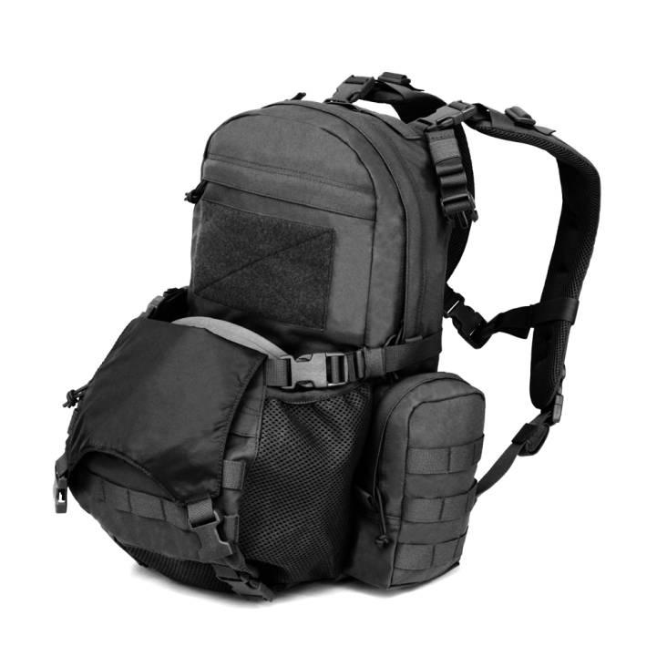 Warrior Helmet Cargo Pack Large 28 Litre Black