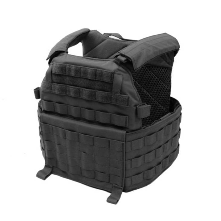 Warrior DCS Special Forces Releasable Plate Carrier Black