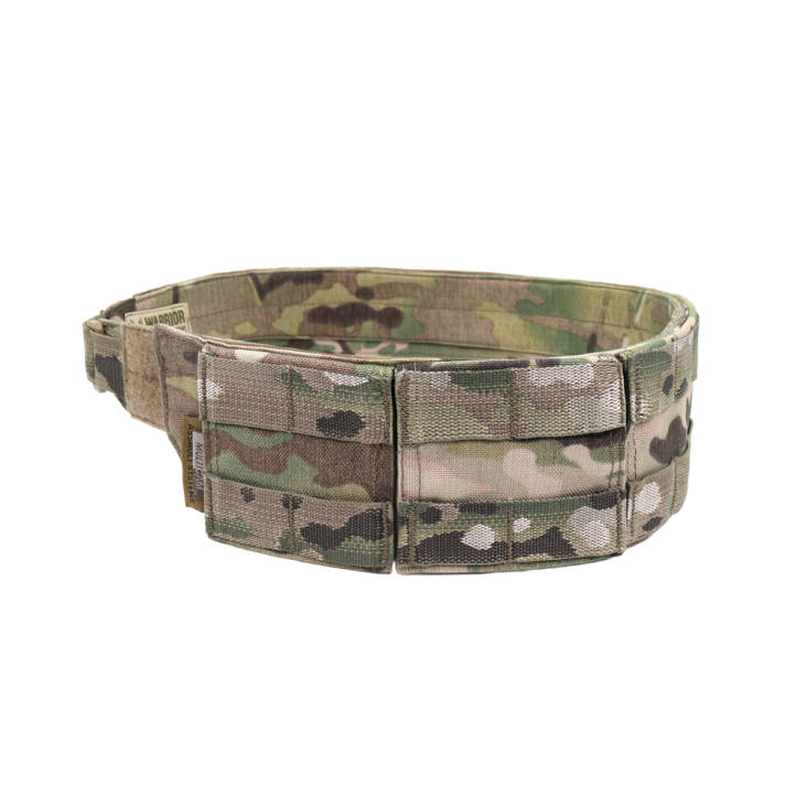 Warrior Low Profile MOLLE Belt MultiCam with Polymer Cobra Belt