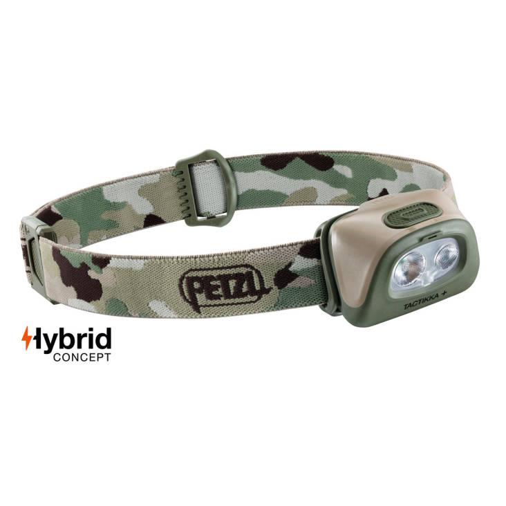 Petzl Tactikka + 350 Lumen Headlamp Camouflage