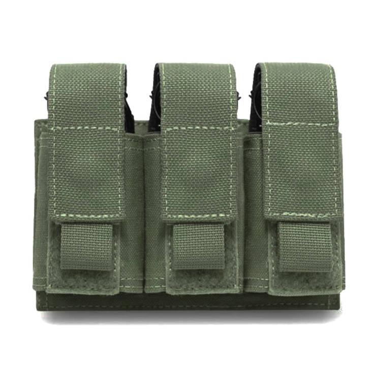 Warrior Triple 40mm Grenade Olive Drab
