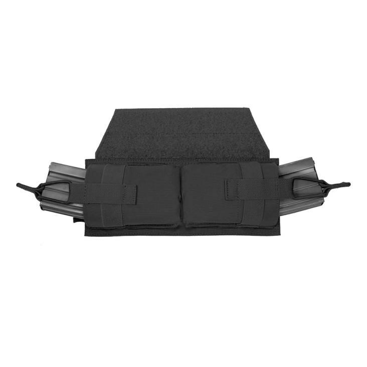 Warrior Horizontal velcro MOLLE Panel Black
