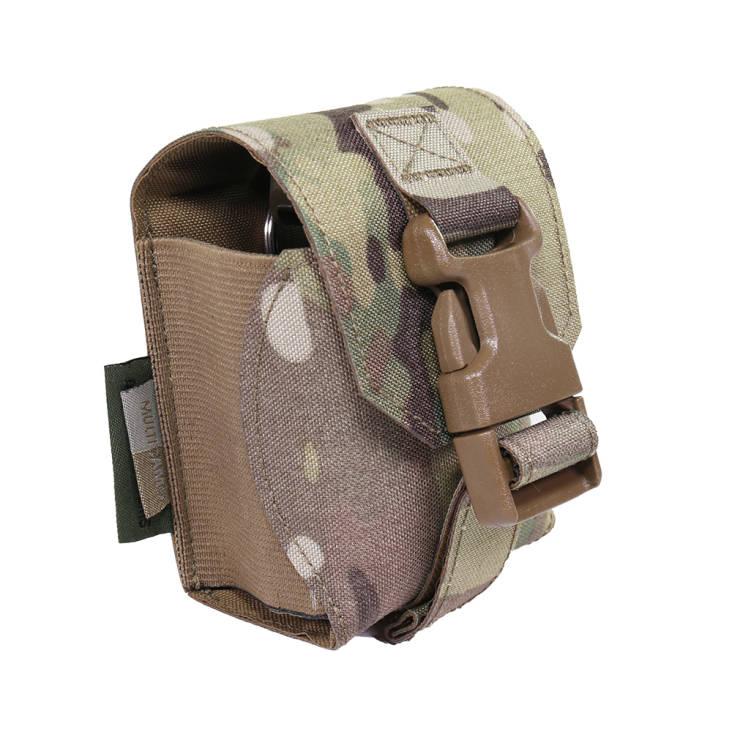 Warrior Laser Cut Frag Grenade Pouch MultiCam