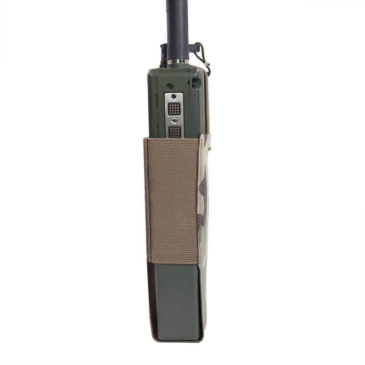 Warrior Laser Cut Wing Velcro MBITR / Harris Radio Pouch MultiCam