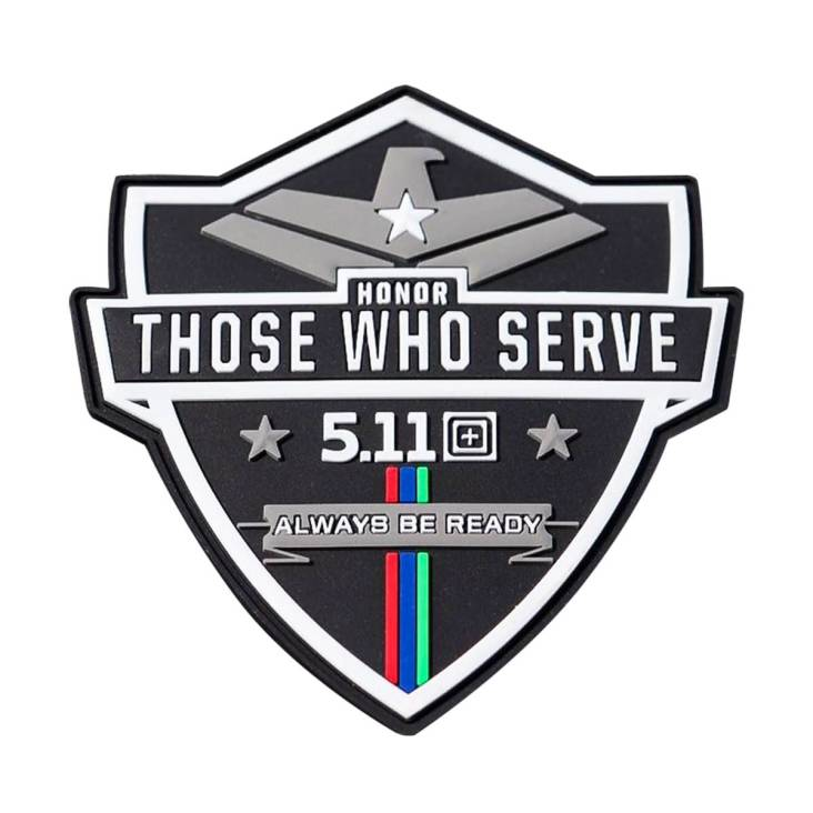 511 Limited Edition Honor Those Who Serve Patch