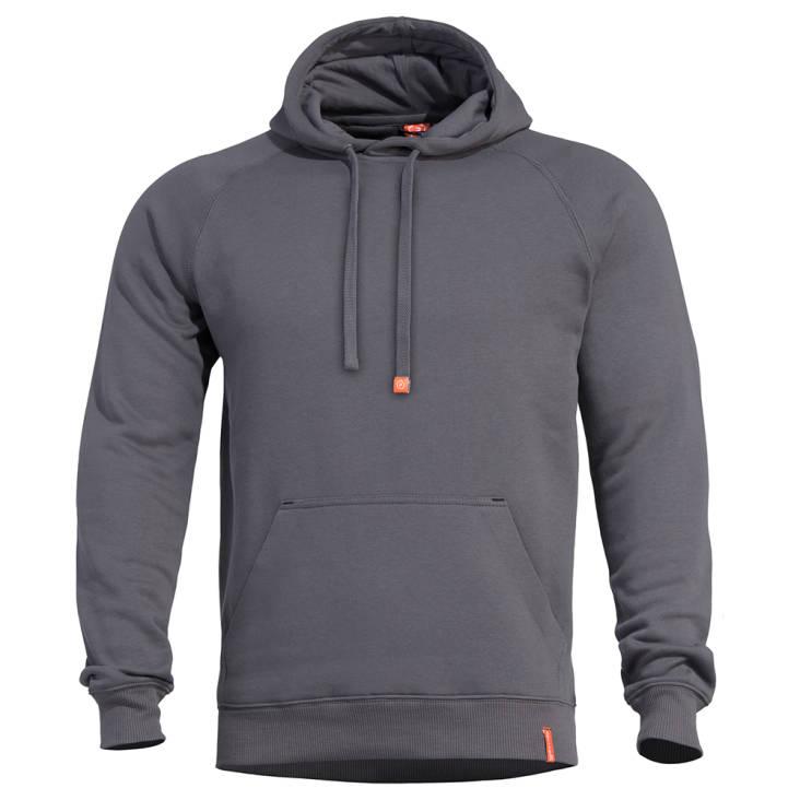 Pentagon Phaeton Hood Sweater Cinder Grey