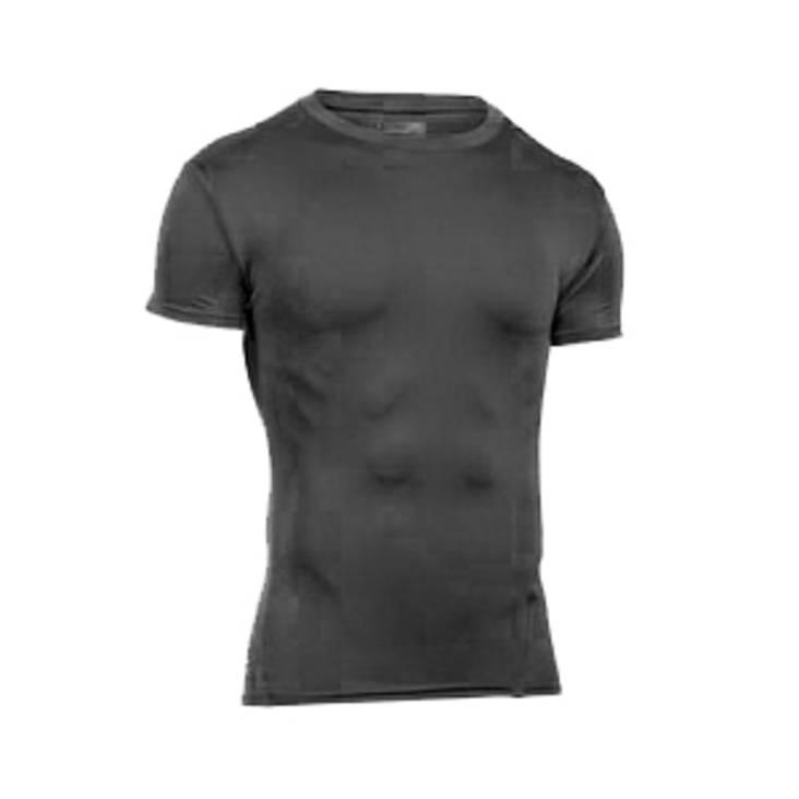 Under Armour Heatgear Short Sleeve Tee Black