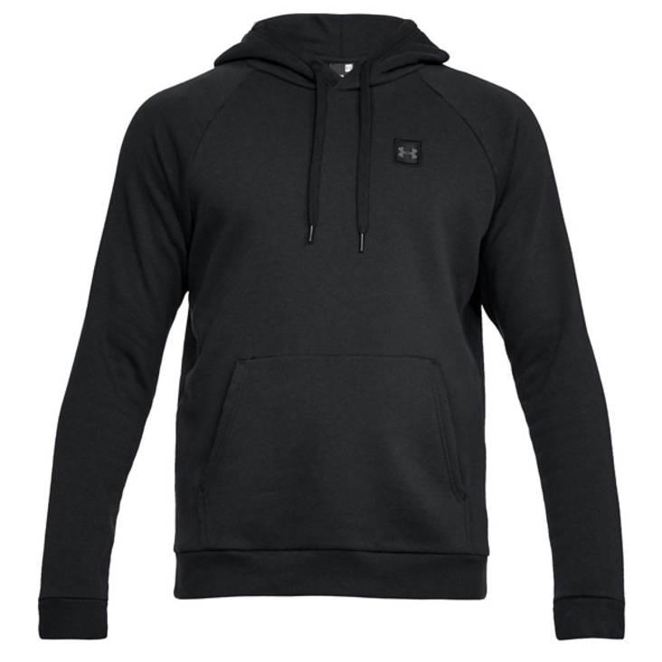 UA Hoodie Rival Fleece P/Over Black