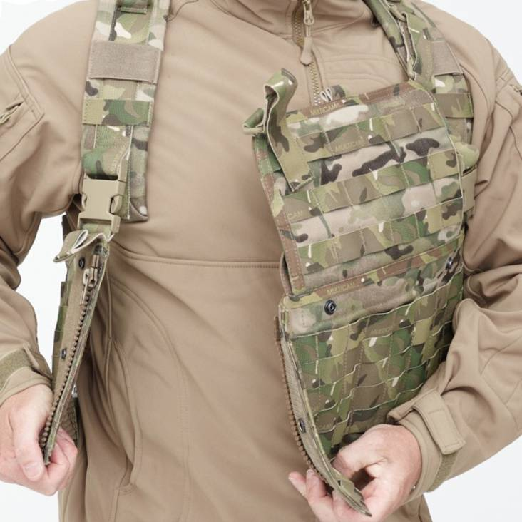 Warrior 901 Chest Rig Base MultiCam