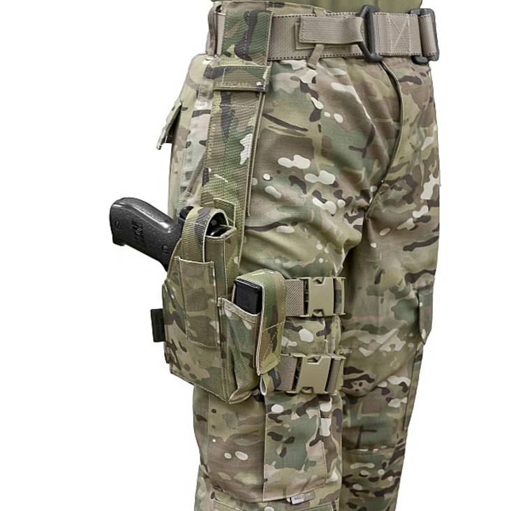 Warrior Drop Leg Holster MultiCam