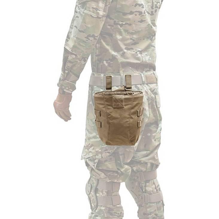 Warrior Roll Up Dump Pouch - Gen 2 Coyote Tan