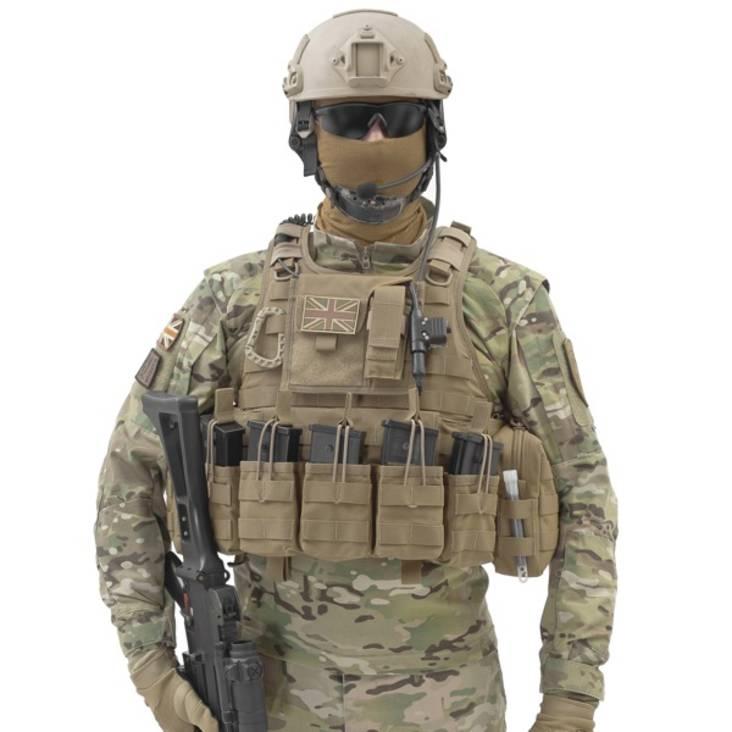 Warrior RICAS Compact G36 Coyote Tan