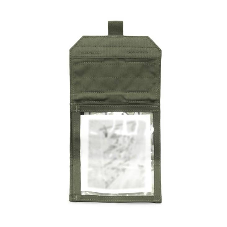 Warrior Forward Opening Admin Pouch Olive Drab