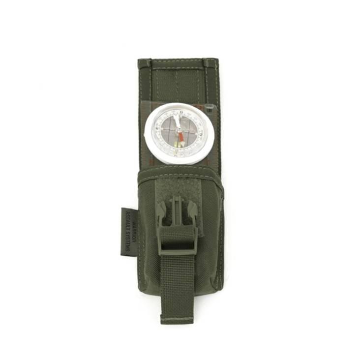 Warrior Strobe Compass Pouch Olive Drab