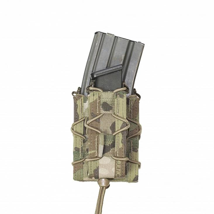 Warrior Single Quick Mag with Single Pistol Pouch MultiCam
