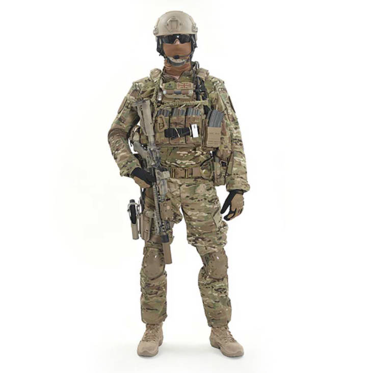 Warrior DCS DA5.56 small/MEDIUM MultiCam