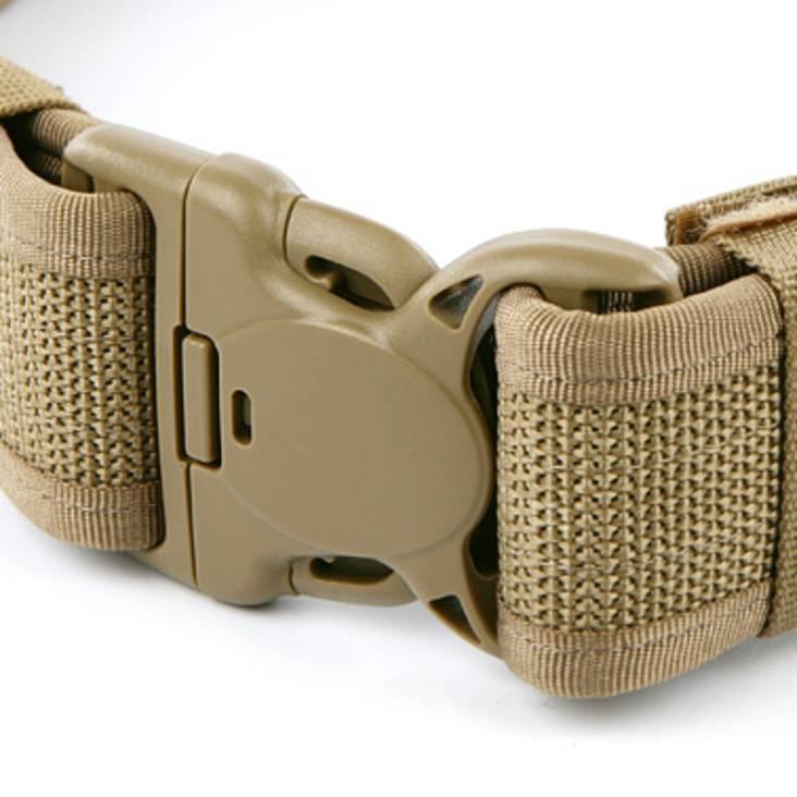 Warrior Tactical Duty Belt Tan