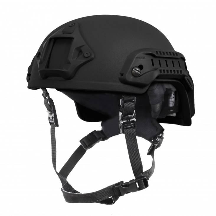 Nexus SF M3 Helmet with Rails, NVG Shroud, BOA Dialler Black, Size Large