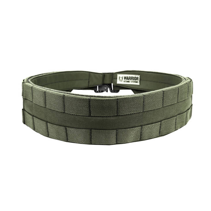 Warrior Low Profile MOLLE Belt Olive Drab for use with your own belt