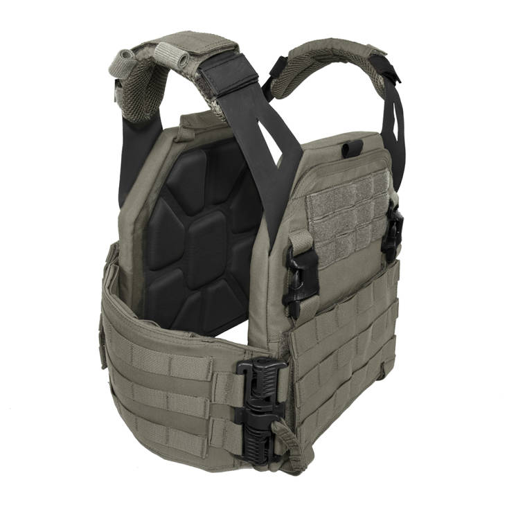 Warrior Low Profile Carrier V1 with Solid Sides Ranger Green