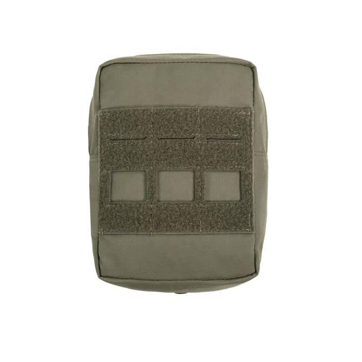 Warrior Laser Cut Small Vertical Utiliy Pouch Ranger Green