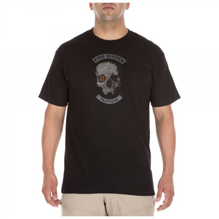 5.11 Topo Skull Tee - Black