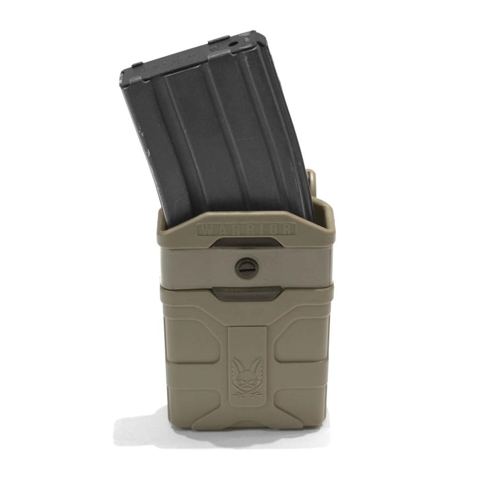 Warrior Assault Systems Polymer 5.56mm Mag Pouch Dark Earth