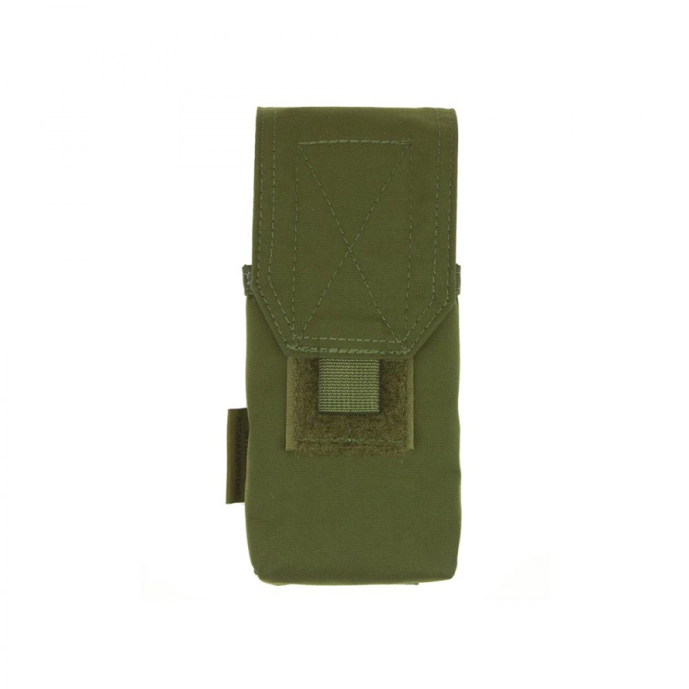Warrior Single G36 Covered Mag Pouch OD Green